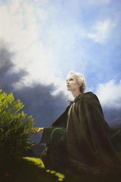 The Mother Of All Living - 24 x 36 giclée on canvas (unmounted) by Al Young