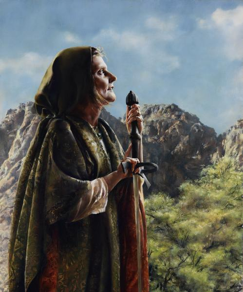 I Arose A Mother In Israel - 20 x 24 giclée on canvas (unmounted) by Elspeth Young