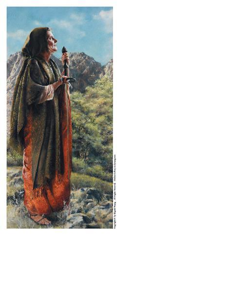 I Arose A Mother In Israel - 4 x 8.25 print by Elspeth Young