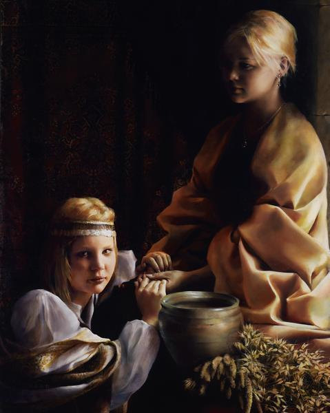 The Trial Of Faith - 8 x 10 giclée on canvas (pre-mounted) by Elspeth Young