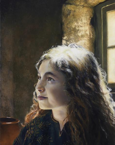 I Say Unto Thee, Arise - 11 x 14 giclée on canvas (pre-mounted) by Al Young