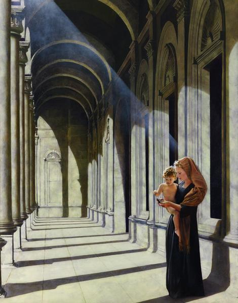 The Windows Of Heaven - 11 x 14 giclée on canvas (pre-mounted) by Al Young