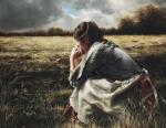 As A Sparrow Alone - 20 x 25.75 giclée on canvas (unmounted)