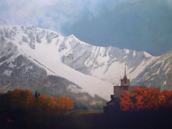 Den Kommende Vinteren - 18 x 24 giclée on canvas (pre-mounted) by Al Young