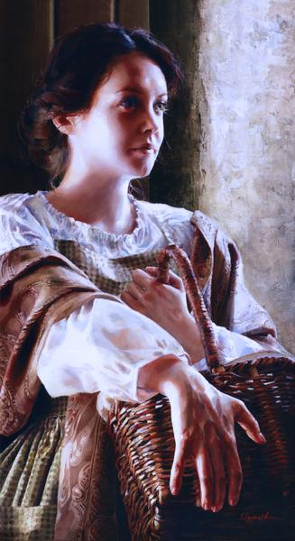 Angels Of Peace - 12 x 22 giclée on canvas (pre-mounted) by Elspeth Young