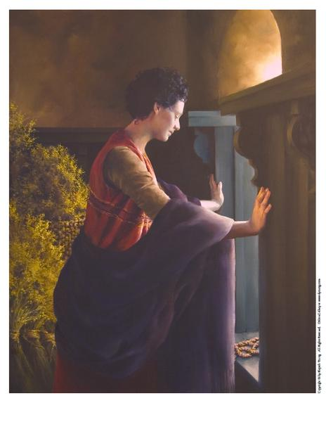Waiting For The Promise - 8 x 10 print by Elspeth Young
