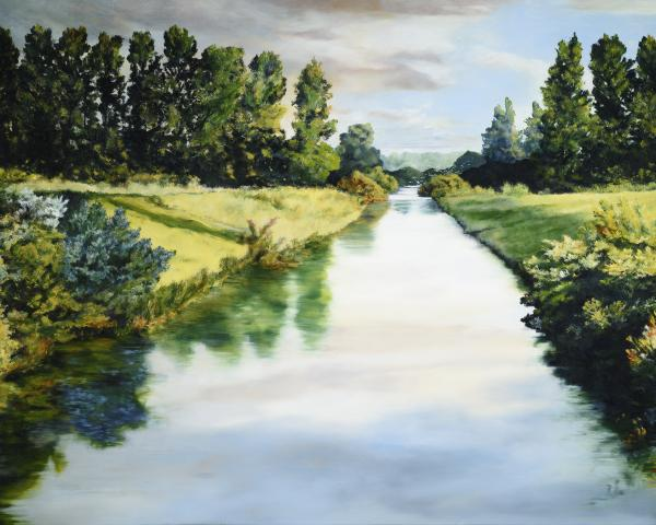 Peace Like A River - 16 x 20 giclée on canvas (pre-mounted) by Ashton Young