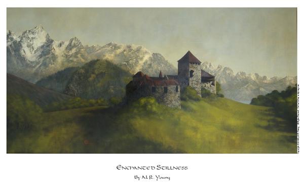 Enchanted Stillness - 11 x 17 print by Al Young