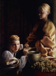 The Trial Of Faith - 6 x 8.25 giclée on canvas (pre-mounted)