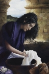 She Worketh Willingly With Her Hands - 24 x 36 giclée on canvas (unmounted)