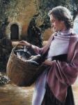 And Martha Served - 18 x 24 print