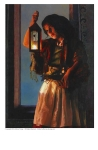A Damsel Came To Hearken - 5 x 7 print