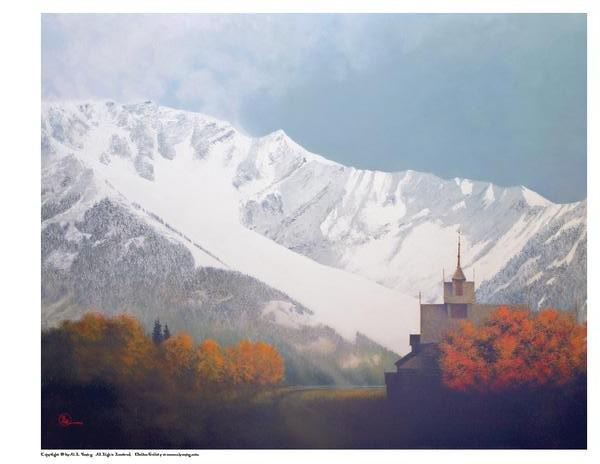 Den Kommende Vinteren - 8 x 10 print by Al Young