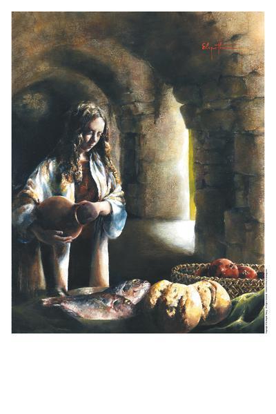 Martha, Martha - 11 x 14 print by Elspeth Young