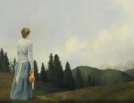 Mountain Home - 14 x 18 giclée on canvas (pre-mounted)