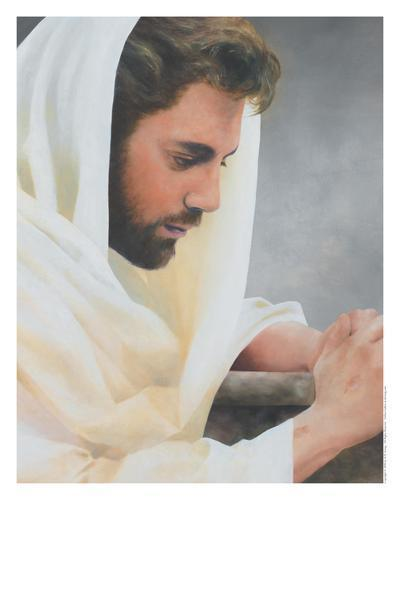 We Heard Him Pray For Us - 11 x 14 print by Al Young