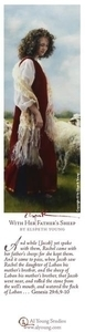 With Her Father's Sheep - Bookmark by Elspeth Young