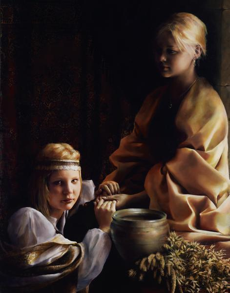 The Trial Of Faith - 11 x 14 giclée on canvas (pre-mounted) by Elspeth Young