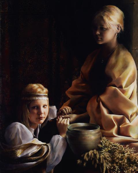 The Trial Of Faith - 16 x 20 giclée on canvas (pre-mounted) by Elspeth Young