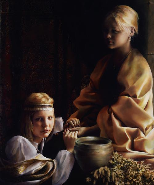 The Trial Of Faith - 20 x 24 giclée on canvas (unmounted) by Elspeth Young