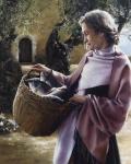 And Martha Served - 8 x 10 giclée on canvas (pre-mounted)