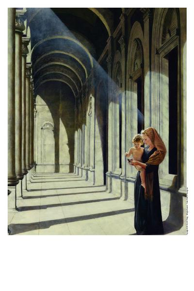 The Windows Of Heaven - 11 x 14 print by Al Young