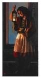 A Damsel Came To Hearken - 4 x 8.25 print