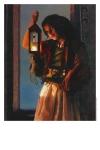 A Damsel Came To Hearken - 11 x 14 print