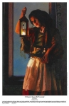 A Damsel Came To Hearken - 11 x 17 print