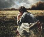 As A Sparrow Alone - 20 x 24 giclée on canvas (unmounted)