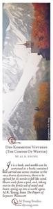 Den Kommende Vinteren - Bookmark by Al Young