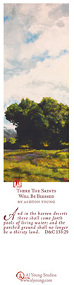 There The Saints Will Be Blessed - Bookmark by Ashton Young