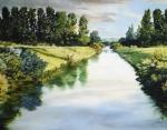 Peace Like A River - 11 x 14 giclée on canvas (pre-mounted)