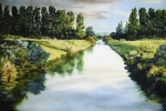 Peace Like A River - 24 x 36 giclée on canvas (unmounted)