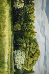 Green And Pleasant Land - 24 x 36 giclée on canvas (unmounted)