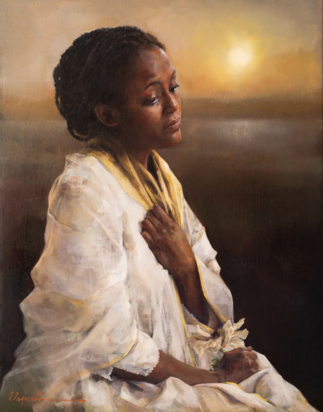 The Blessings Afar Off - 11 x 14 print by Elspeth Young
