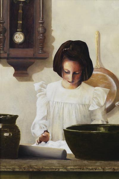 Sara Crewe - 6 x 9 giclée on canvas (pre-mounted) by Al Young