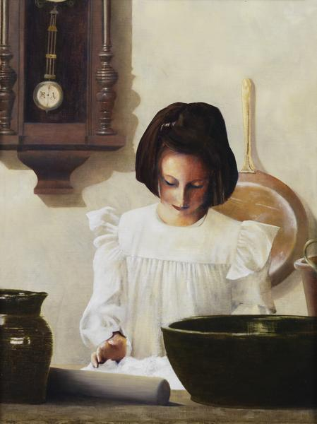 Sara Crewe - 12 x 16 giclée on canvas (pre-mounted) by Al Young