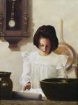 Sara Crewe - 12 x 16 giclée on canvas (pre-mounted)