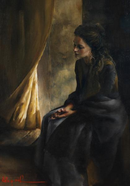 What Is To Be Done For Thee - 14 x 20 giclée on canvas (pre-mounted) by Elspeth Young
