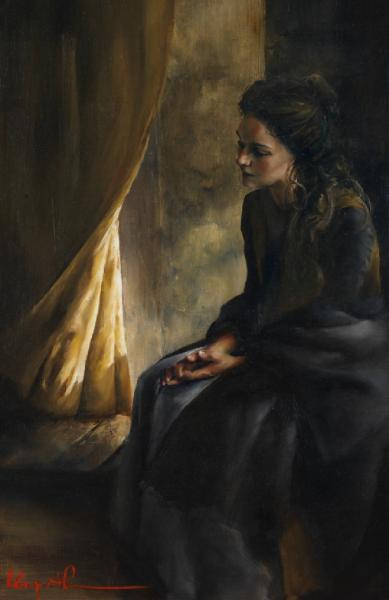What Is To Be Done For Thee - 11 x 17 giclée on canvas (pre-mounted) by Elspeth Young