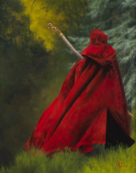 And I Will Not Deny The Christ - 11 x 14 giclée on canvas (pre-mounted) by Al Young