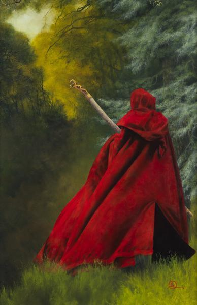 And I Will Not Deny The Christ - 11 x 17 giclée on canvas (pre-mounted) by Al Young