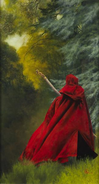 And I Will Not Deny The Christ - 6 x 11 giclée on canvas (pre-mounted) by Al Young