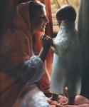 For This Child I Prayed - 20 x 24 print