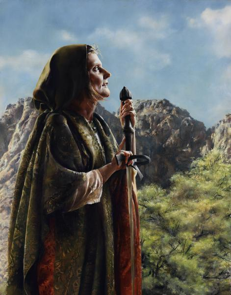 I Arose A Mother In Israel - 11 x 14 giclée on canvas (pre-mounted) by Elspeth Young