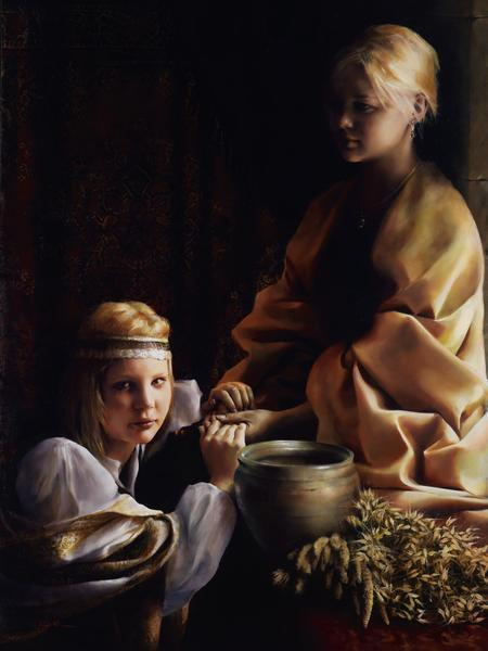 The Trial Of Faith - 12 x 16 giclée on canvas (pre-mounted) by Elspeth Young