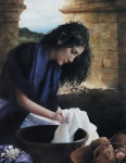 She Worketh Willingly With Her Hands - 14 x 18 print