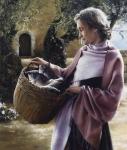 And Martha Served - 14 x 16.5 giclée on canvas (pre-mounted)