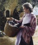 And Martha Served - 16 x 18.75 giclée on canvas (pre-mounted)